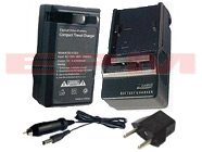 BLS-5 BCS-5 Olympus PEN E-PL1s E-PL2 Replacement Digital Camera Battery AC Wall DC Car Charger Kit