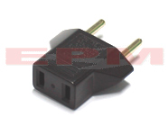 European Plug Adapter for AC DC Digital Camera Camcorder Battery Charger