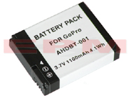 AHDBT-001 AHDBT-002 GoPro HD HERO HERO2 Replacement Camcorder Battery