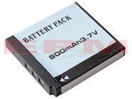 VG0376122100008 800mAh HP PhotoSmart PB360T PW360T SB360 Replacement Digital Camera Battery