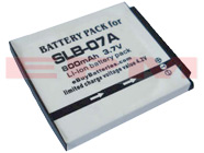 SLB-07A 800mAh Samsung PL150 ST45 ST50 ST500 ST550 TL100 TL220 TL225 TL90 Replacement Digital Camera Battery